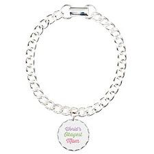 World's Okayest Mom Bracelet
