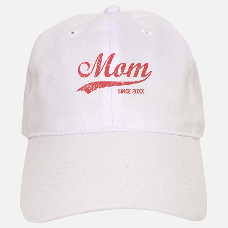 Personalize Mom Since Baseball Baseball Cap