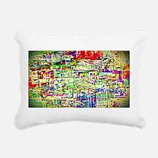 Spectrum of memories Rectangular Canvas Pillow