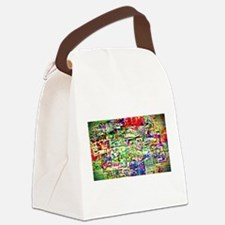 Spectrum of memories Canvas Lunch Bag