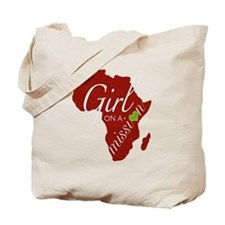Cute Africa Tote Bag