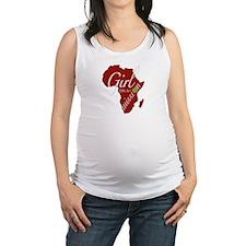 Cute Africa Maternity Tank Top