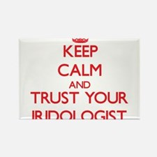 Keep Calm and trust your Iridologist Magnets