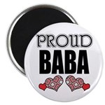 "Proud BABA (2) 2.25"" Magnet (10 pack)"