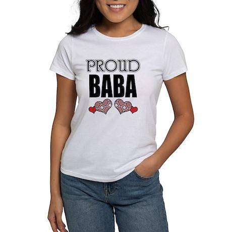 Proud BABA (2) Women's T-Shirt