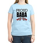 Proud BABA (2) Women's Light T-Shirt