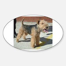 lakeland terrier full Decal