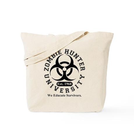 A Zombie Hunter University Tote Bag