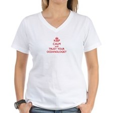 Keep Calm and trust your Oceanologist T-Shirt