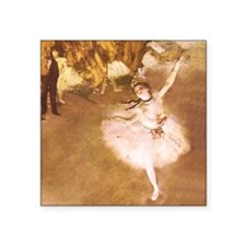 Ballet Dancer Degas Impressionist Painting Sticker