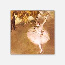 Ballet Dancer Degas Impressionist Painting Sticker