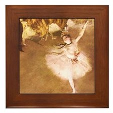 Ballet Dancer Degas Impressionist Painting Framed