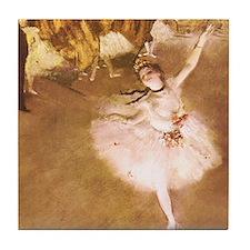 Ballet Dancer Degas Impressionist Painting Tile Co