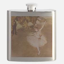 Ballet Dancer Degas Impressionist Painting Flask