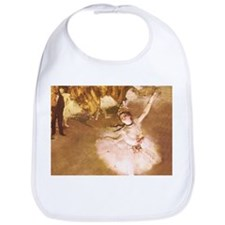 Ballet Dancer Degas Impressionist Painting Bib