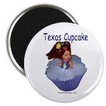 Texas Cupcake Magnet
