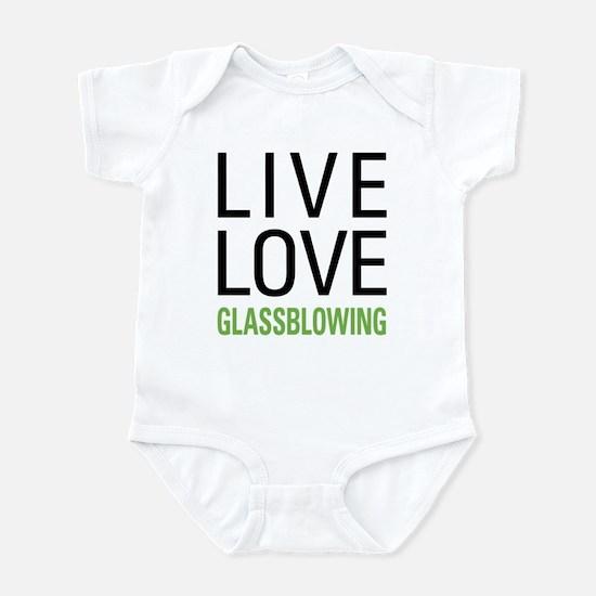 Live Love Glassblowing Infant Bodysuit