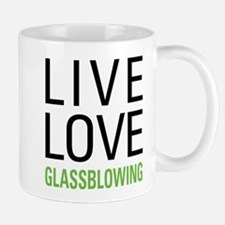 Live Love Glassblowing Mug