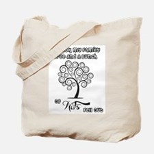 Family Is Full Of Nuts Tote Bag