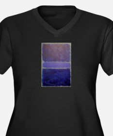 Shades of Purples rothko copy_ Plus Size T-Shirt