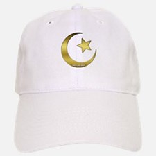 Gold Star and Crescent Baseball Baseball Cap