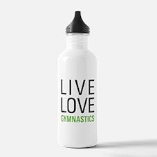 Live Love Gymnastics Water Bottle