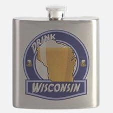 Drink Wisconsin Flask