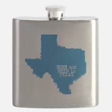 Born and Bred in Texas Flask