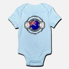 Australian Hand Core Baseball Infant Bodysuit