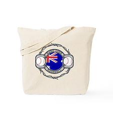 Australian Hand Core Baseball Tote Bag