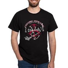 Undying Addiction Football T-Shirt
