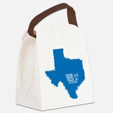 Born and Bred in Texas Canvas Lunch Bag