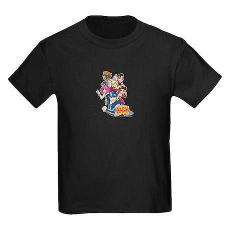 Lazytown Group Kids Dark Kids Dark T-Shirt