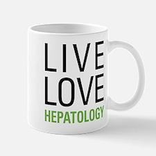 Live Love Hepatology Mug