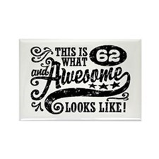 62nd Birthday Rectangle Magnet