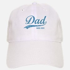 Personalize Dad Since Baseball Baseball Cap