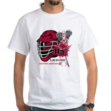 Undying Addiction Mens Lacrosse T-Shirt