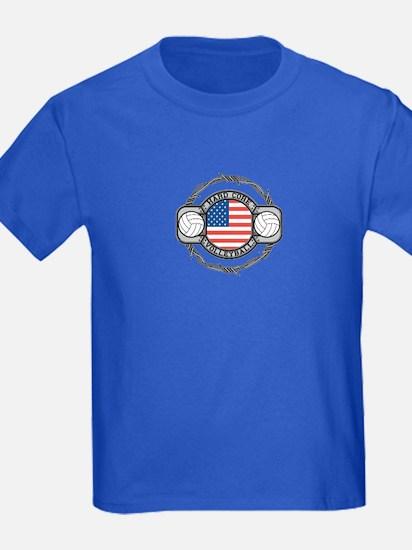 USA Hard Core Volleyball T