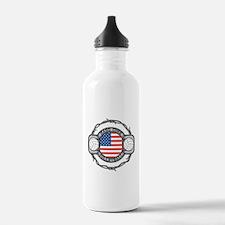 USA Hard Core Volleyba Water Bottle