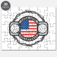 USA Hard Core Volleyball Puzzle