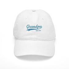 Personalize Grandpa Since Baseball Baseball Cap