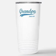 Personalize Grandpa Sin Travel Mug
