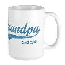 Personalize Grandpa Since Mug