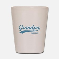 Personalize Grandpa Since Shot Glass