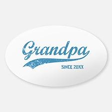 Personalize Grandpa Since Decal