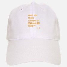 Have You Tried - orange Baseball Baseball Cap
