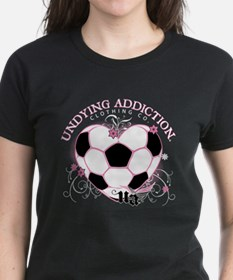 Undying Addiction Womens Soccer T-Shirt