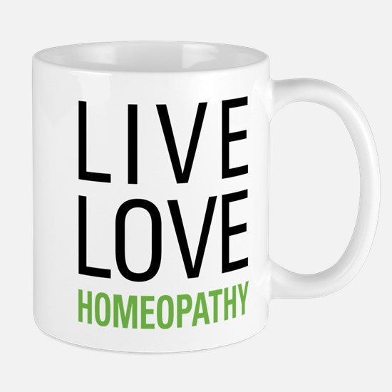 Live Love Homeopathy Mug