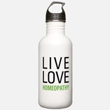 Live Love Homeopathy Sports Water Bottle