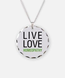 Live Love Homeopathy Necklace